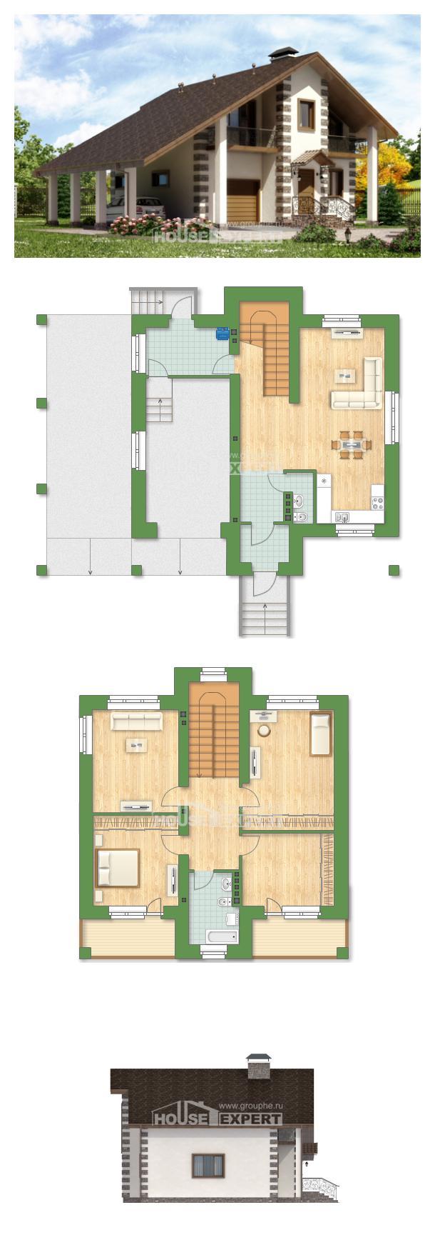 Проект дома 150-003-Л | House Expert