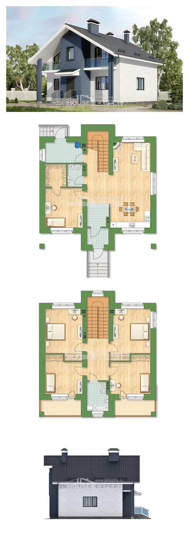 Проект дома 150-005-П   House Expert