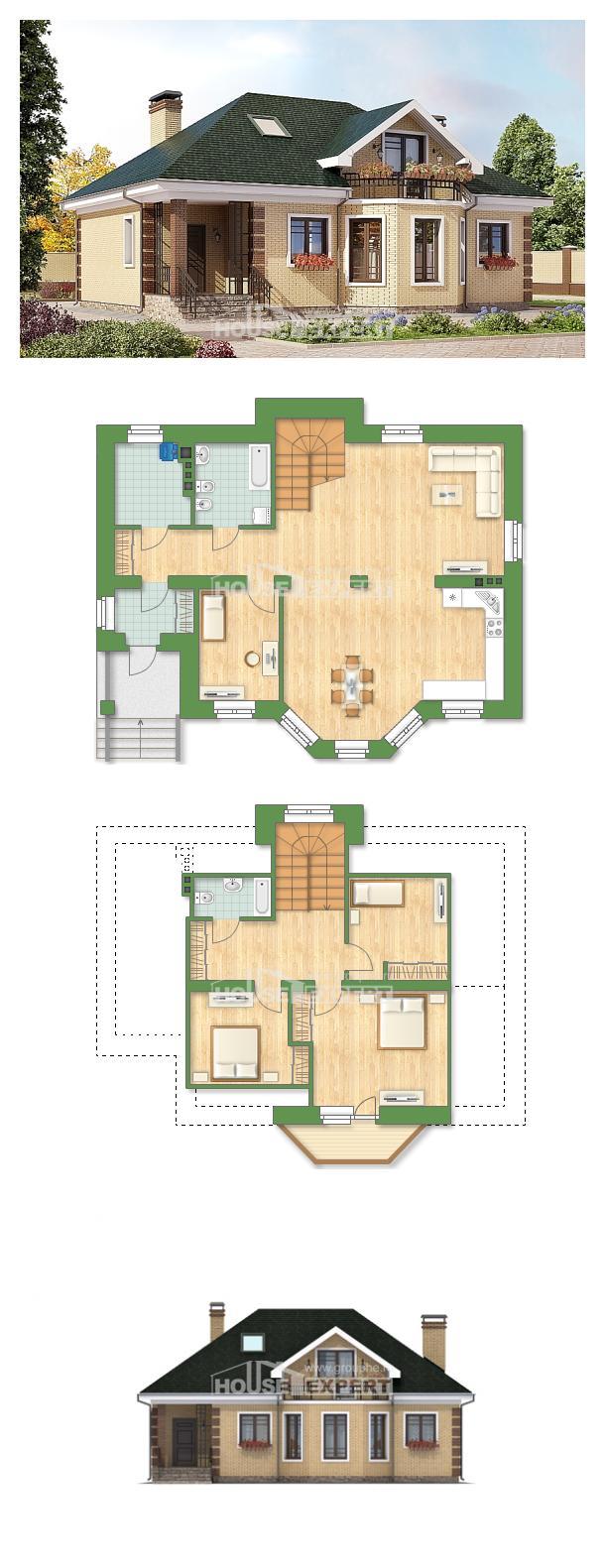 Проект дома 150-013-Л   House Expert