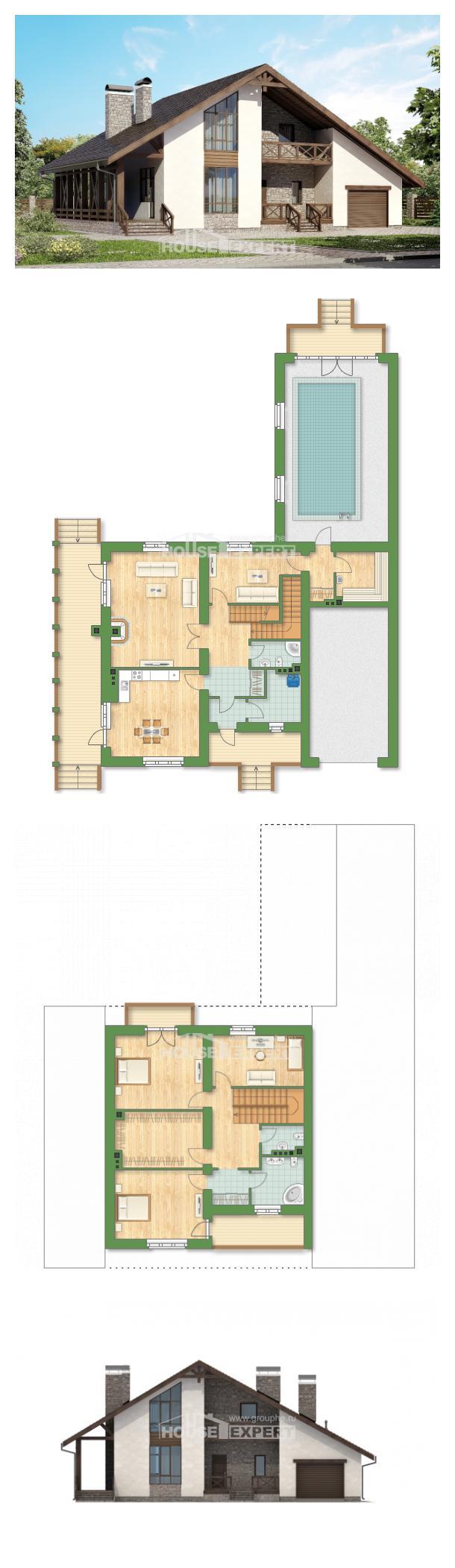 Проект дома 265-001-П | House Expert