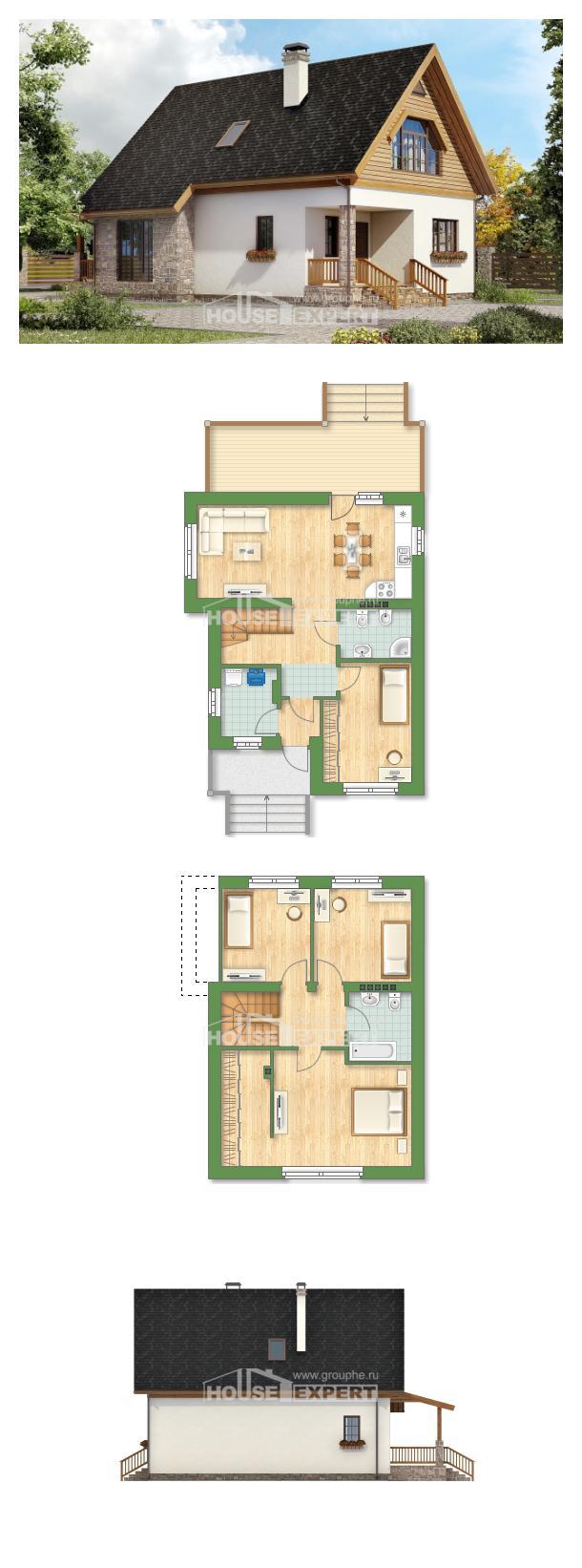 Проект дома 140-001-Л   House Expert