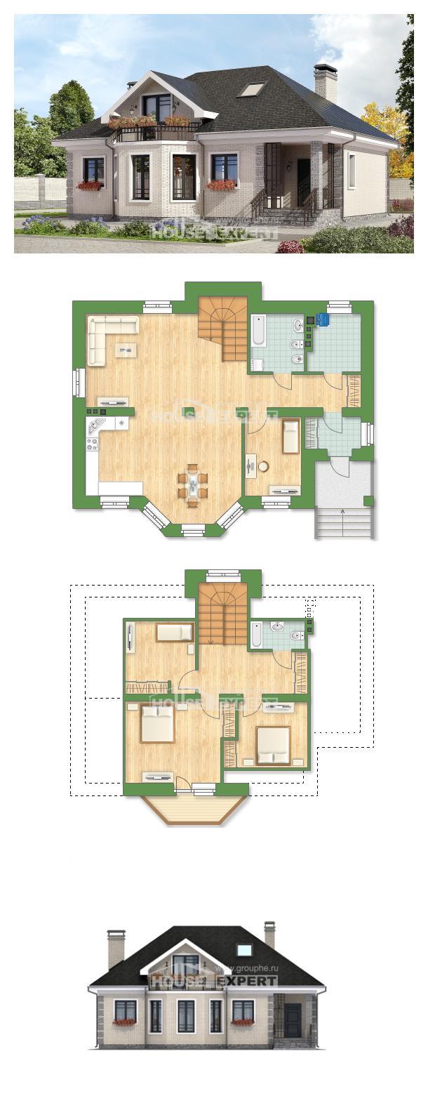 Проект дома 150-013-П | House Expert