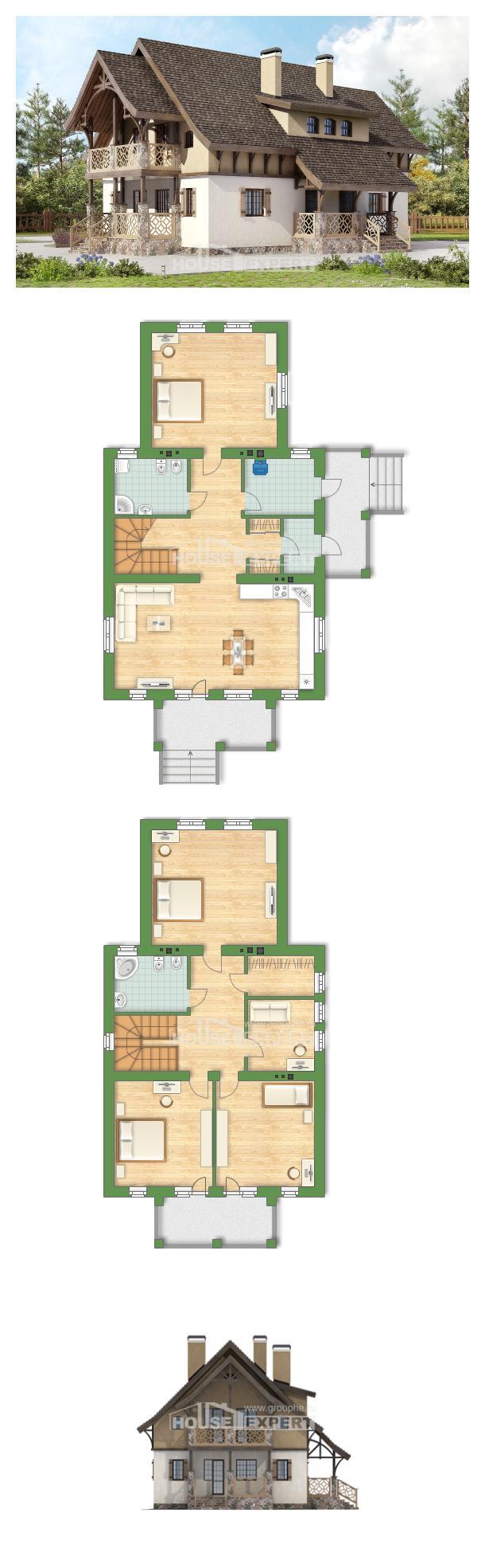 Проект дома 180-014-Л   House Expert