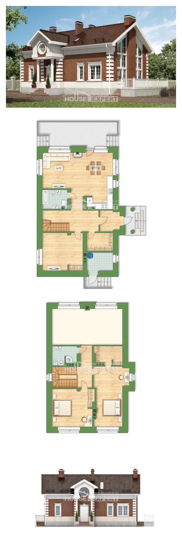Проект дома 160-009-П   House Expert