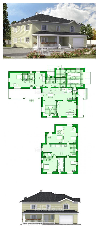 Проект дома 410-002-Л   House Expert