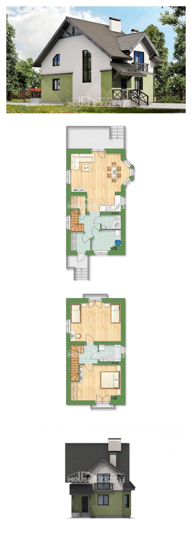 Проект дома 120-003-П   House Expert