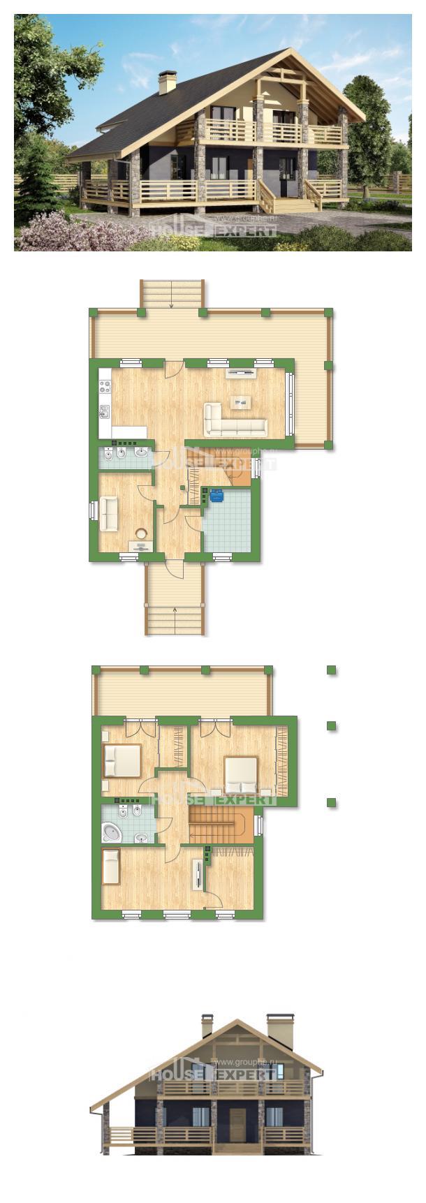 Проект дома 160-010-П   House Expert