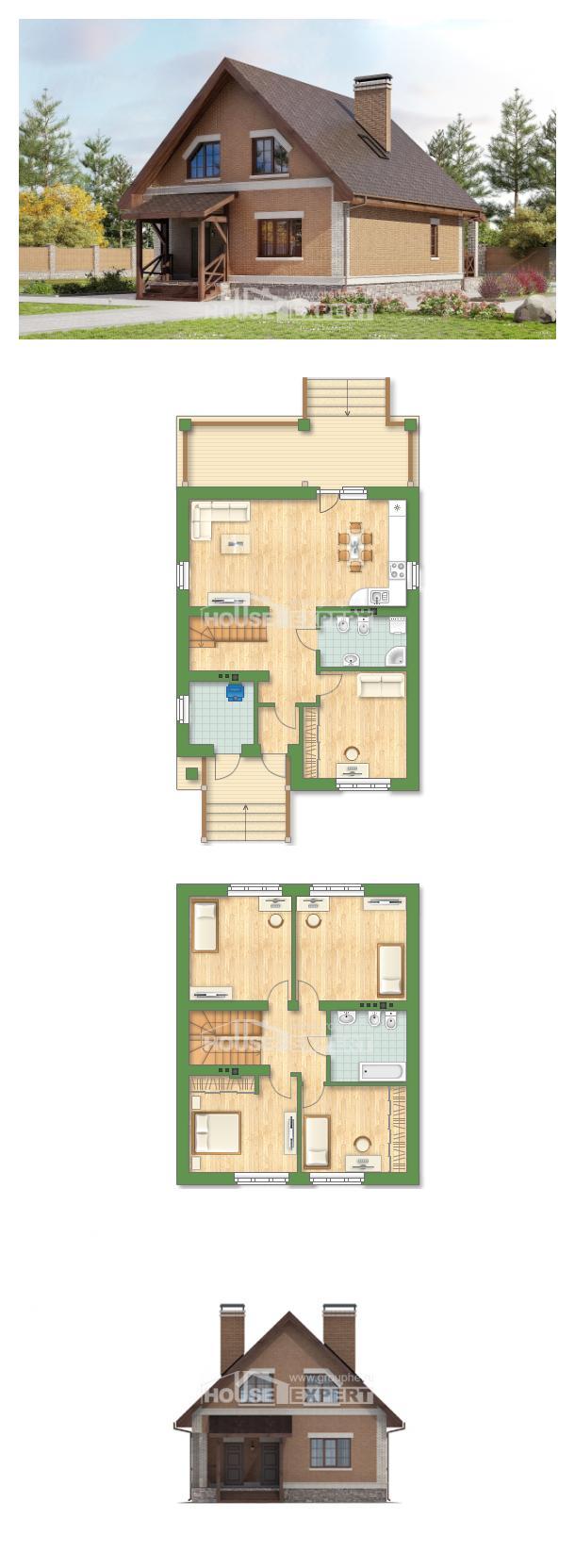 Проект дома 160-011-Л   House Expert