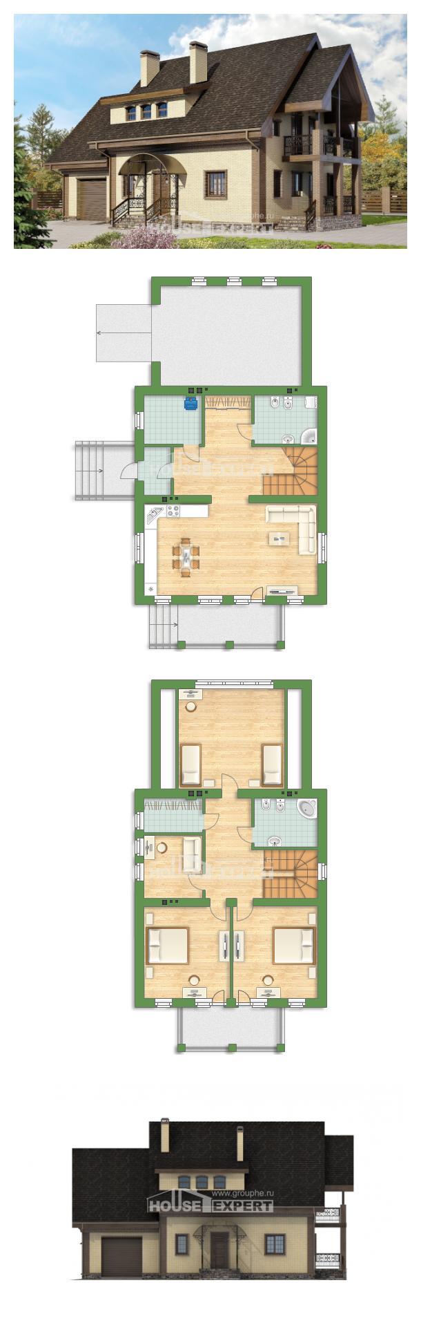Проект дома 185-003-Л   House Expert