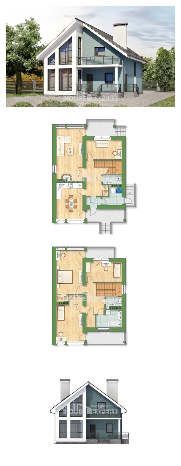 Проект дома 170-006-П | House Expert