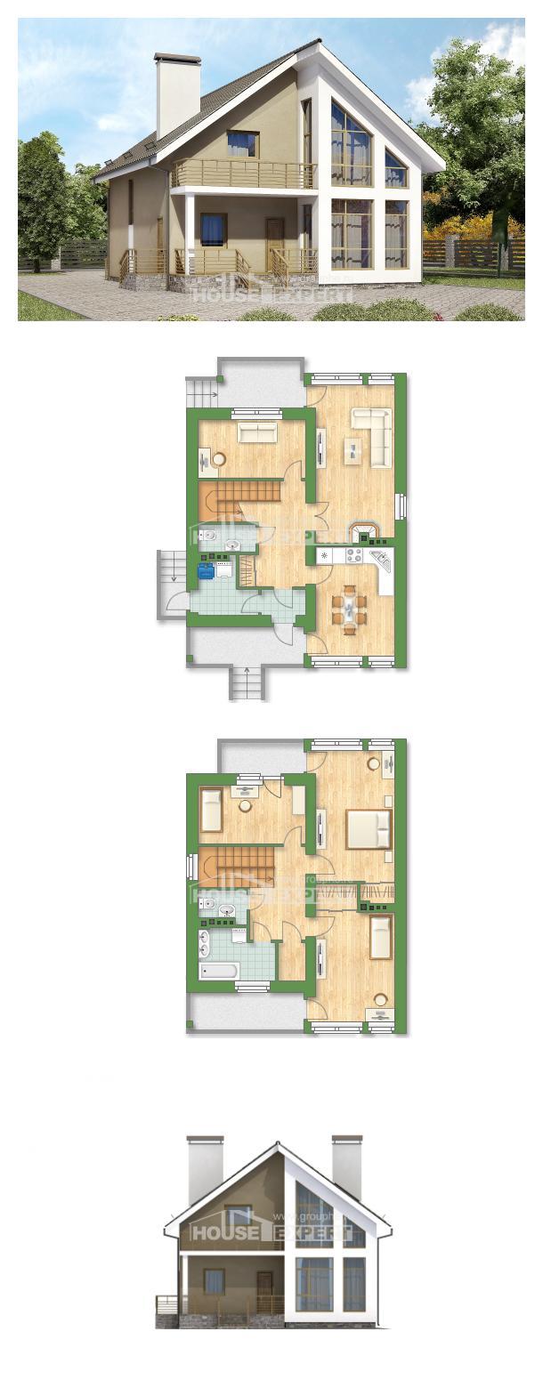 Проект дома 170-006-Л   House Expert