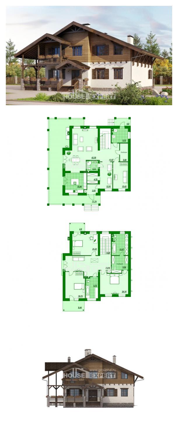 Проект дома 260-001-П | House Expert
