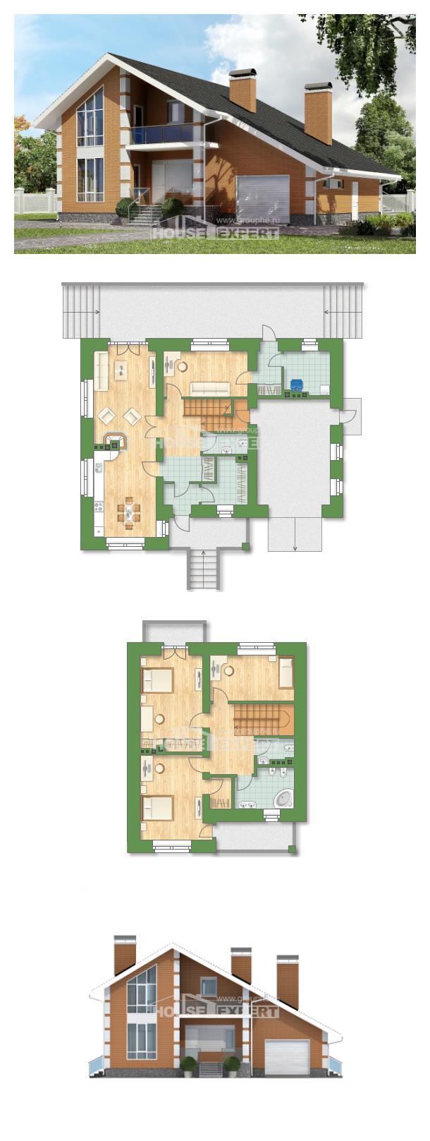 Проект дома 190-006-П | House Expert
