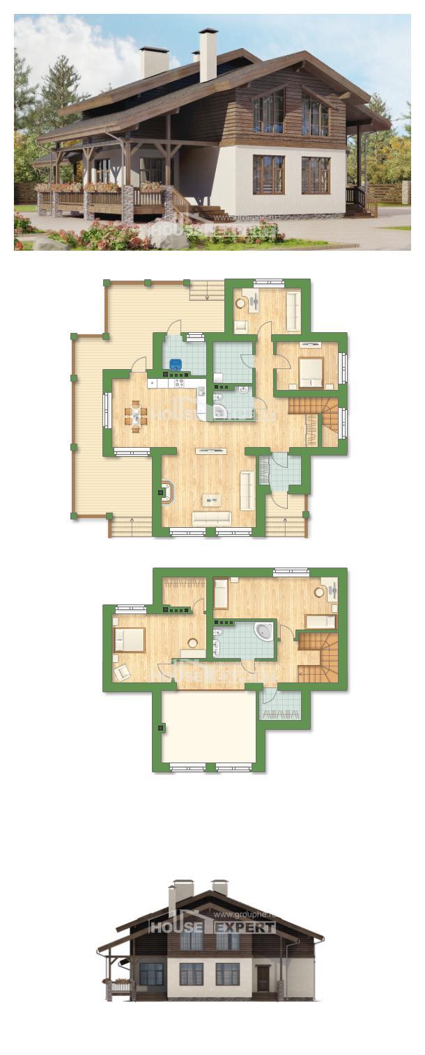 Проект дома 210-006-Л   House Expert