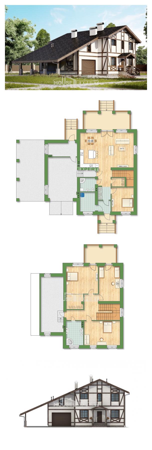 Проект дома 250-002-Л | House Expert