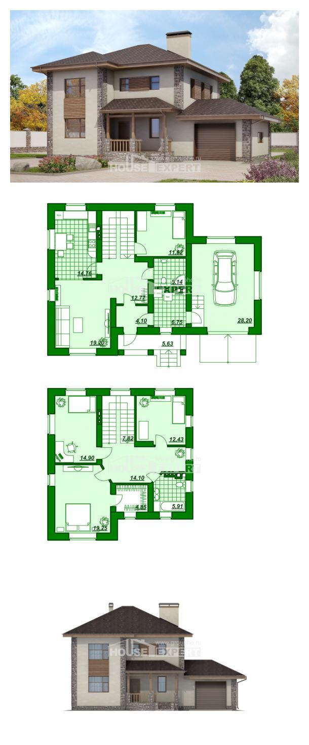 Проект дома 185-004-П   House Expert