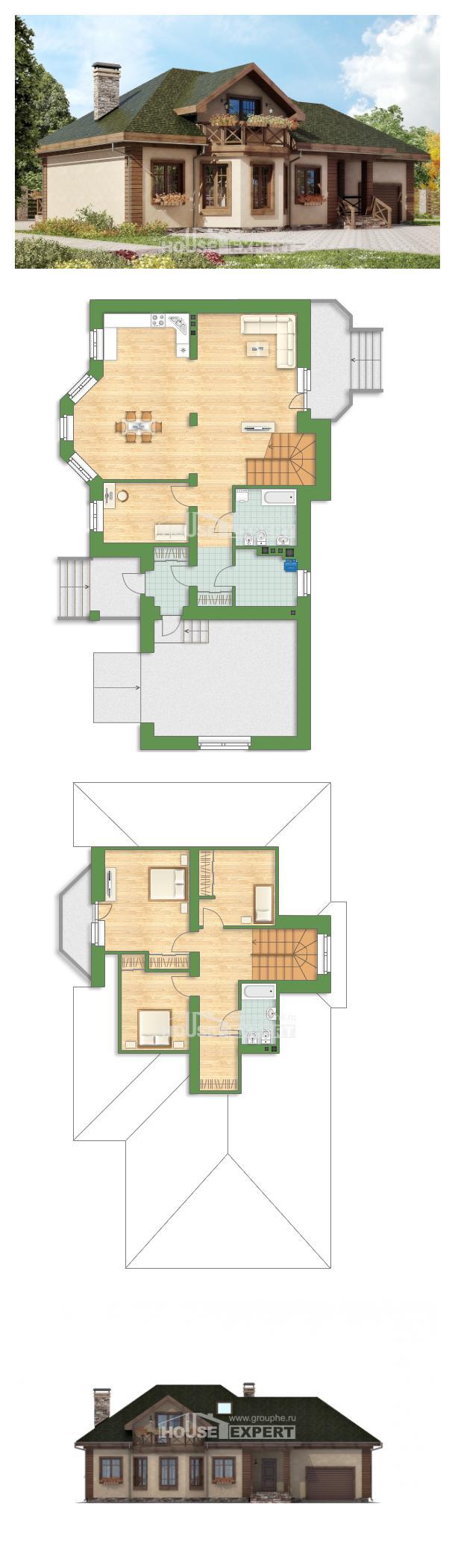 Проект дома 180-010-П | House Expert