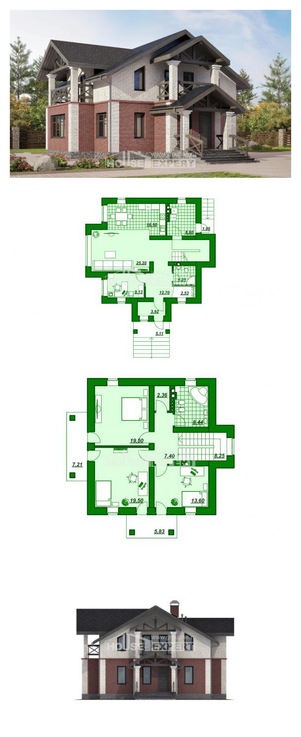 Проект дома 160-014-Л   House Expert