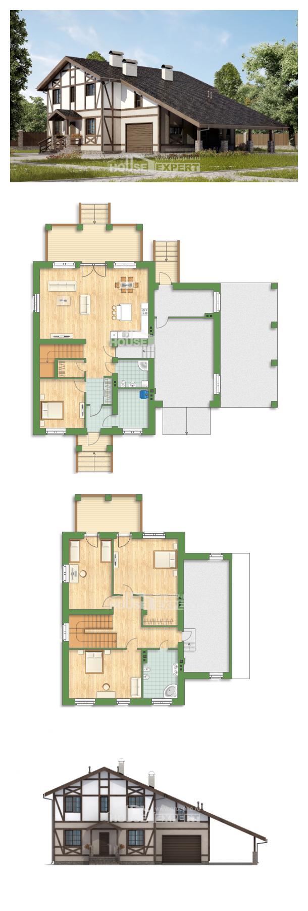 Проект дома 250-002-П   House Expert