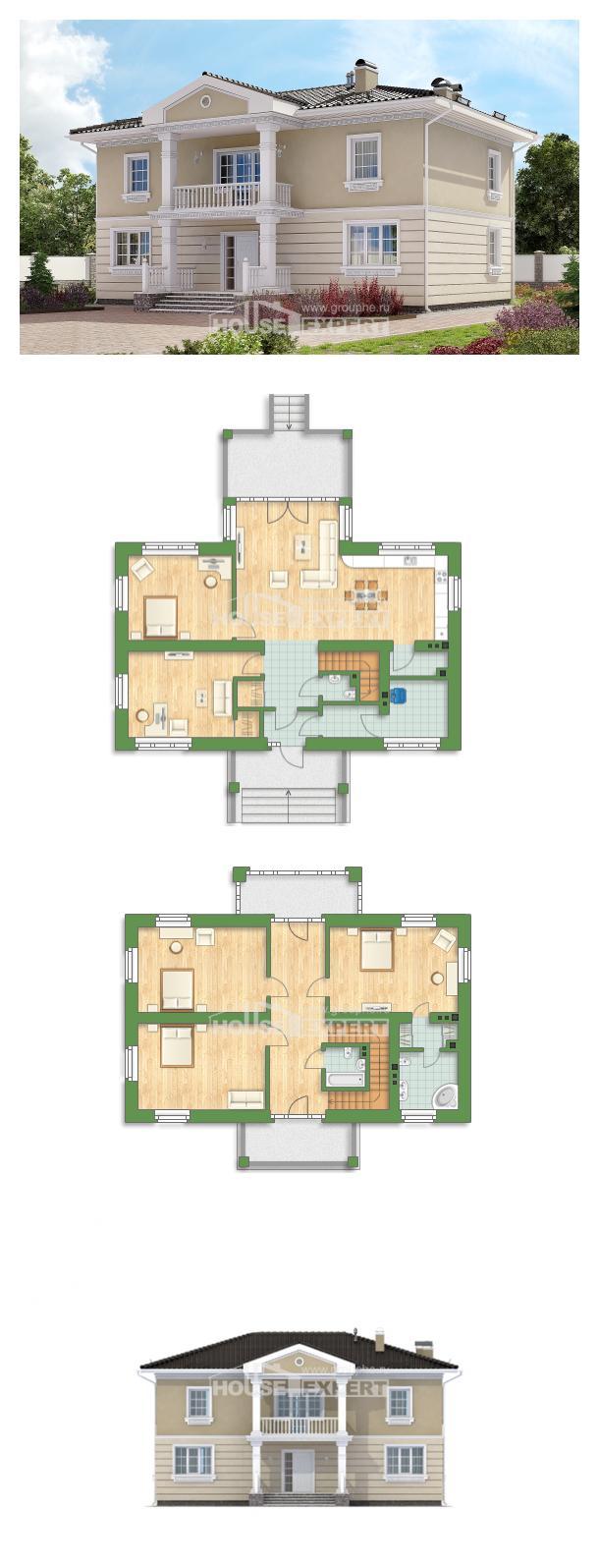 Проект дома 210-005-Л | House Expert