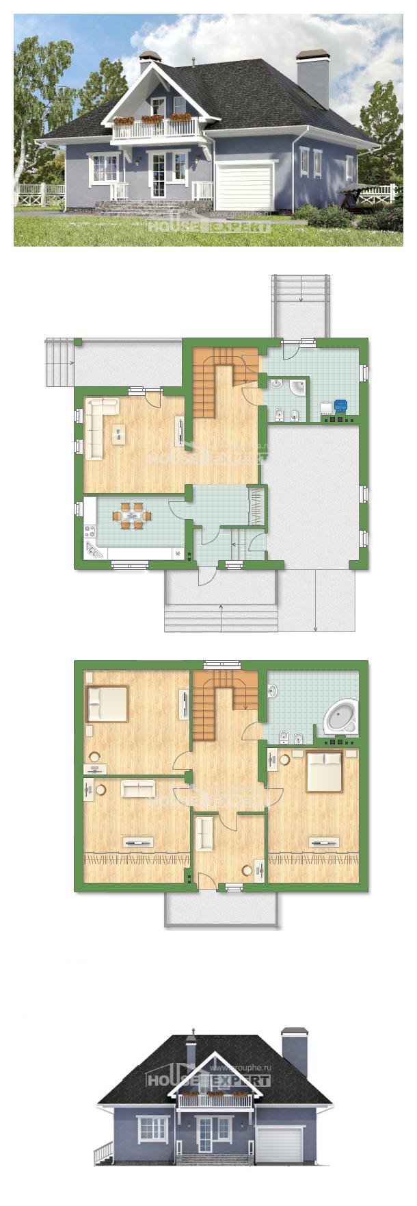 Проект дома 200-001-П   House Expert