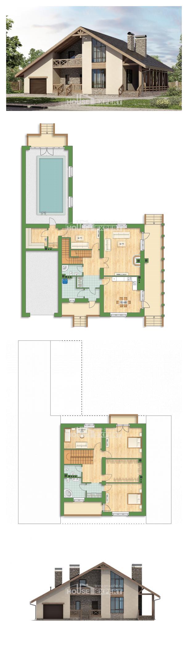 Проект дома 265-001-Л | House Expert