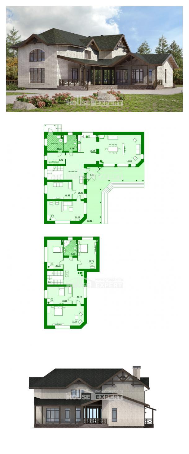 Проект дома 340-004-Л | House Expert