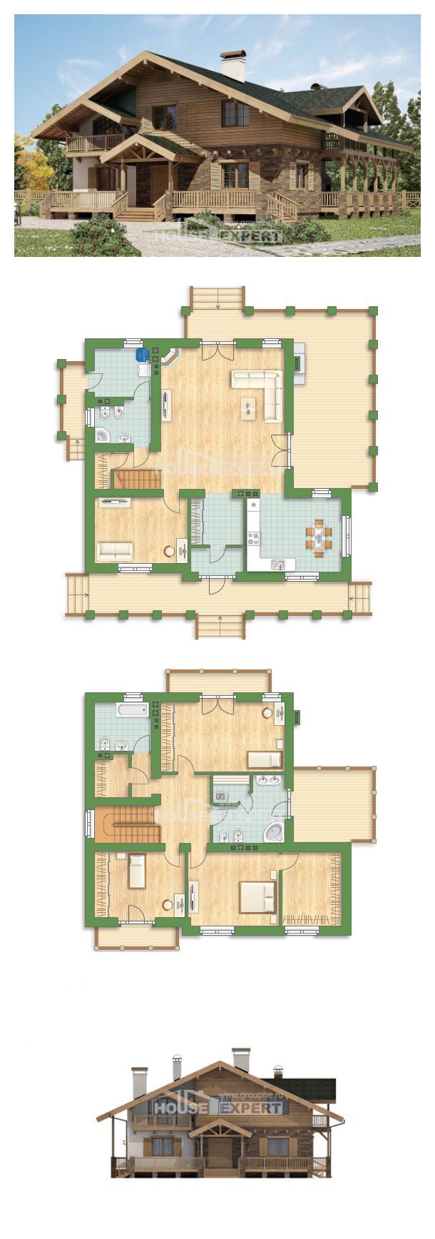 Проект дома 250-003-Л | House Expert