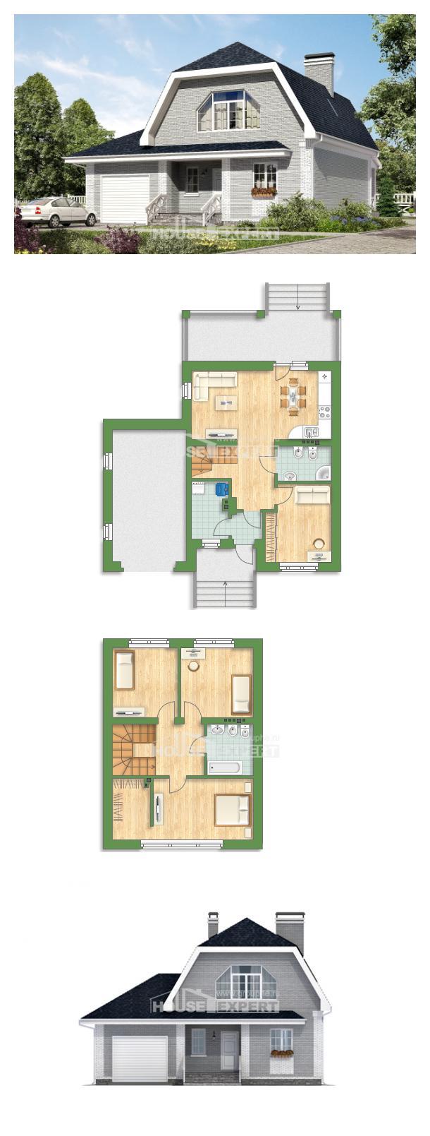 Проект дома 160-006-Л   House Expert