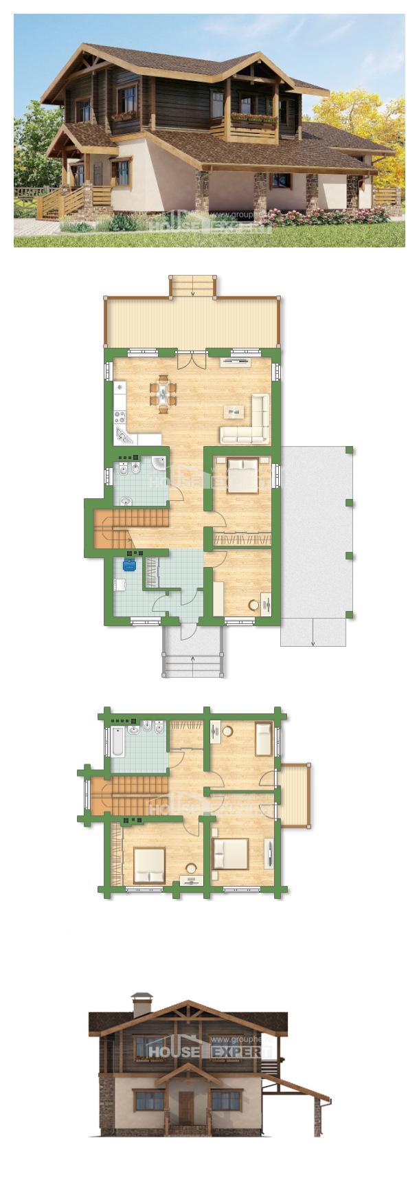 Проект дома 170-004-П | House Expert