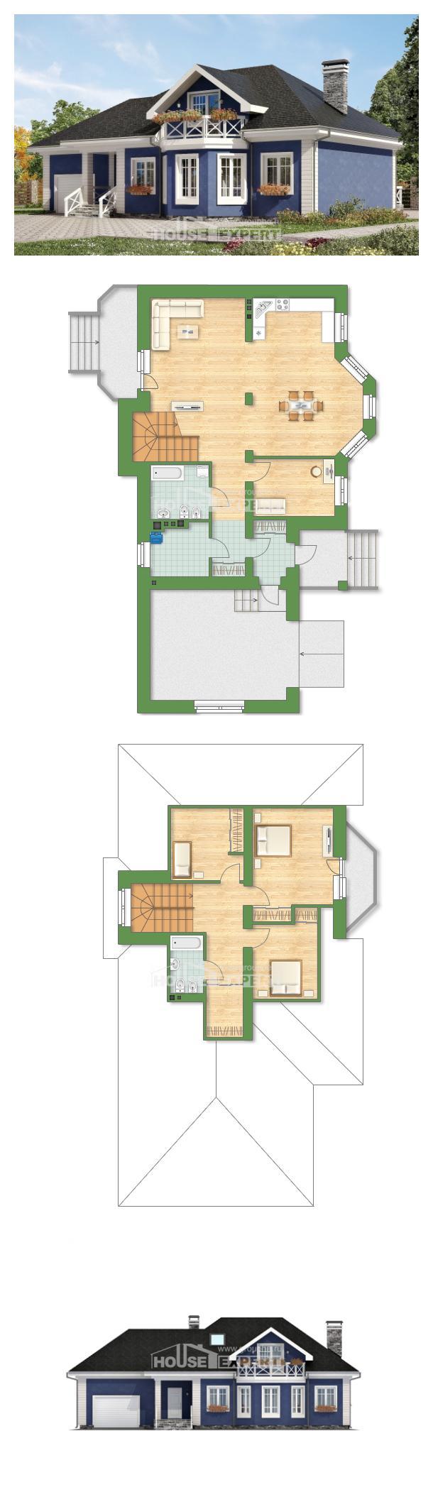 Проект дома 180-010-Л | House Expert