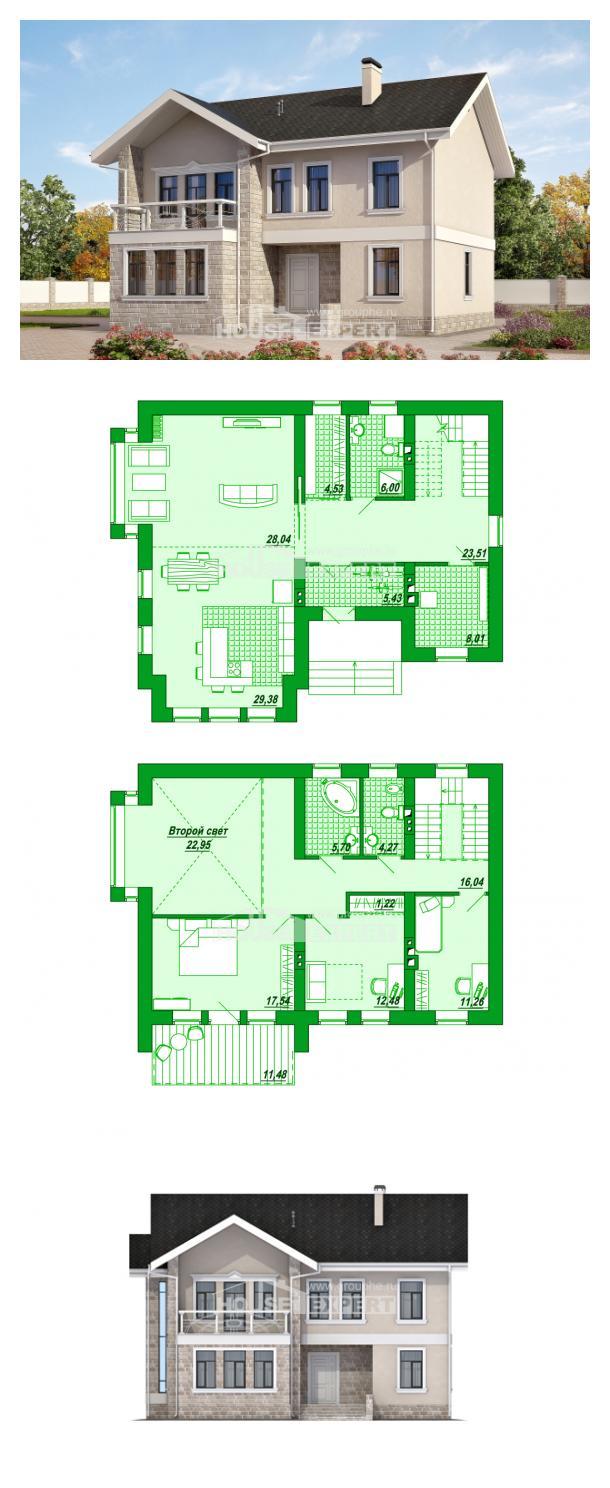 Проект дома 170-008-Л | House Expert