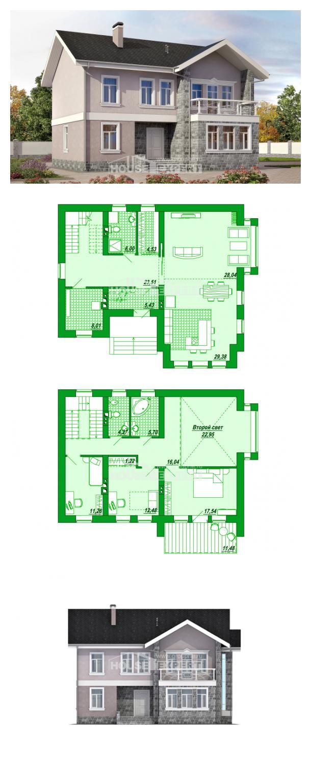 Проект дома 170-008-П   House Expert