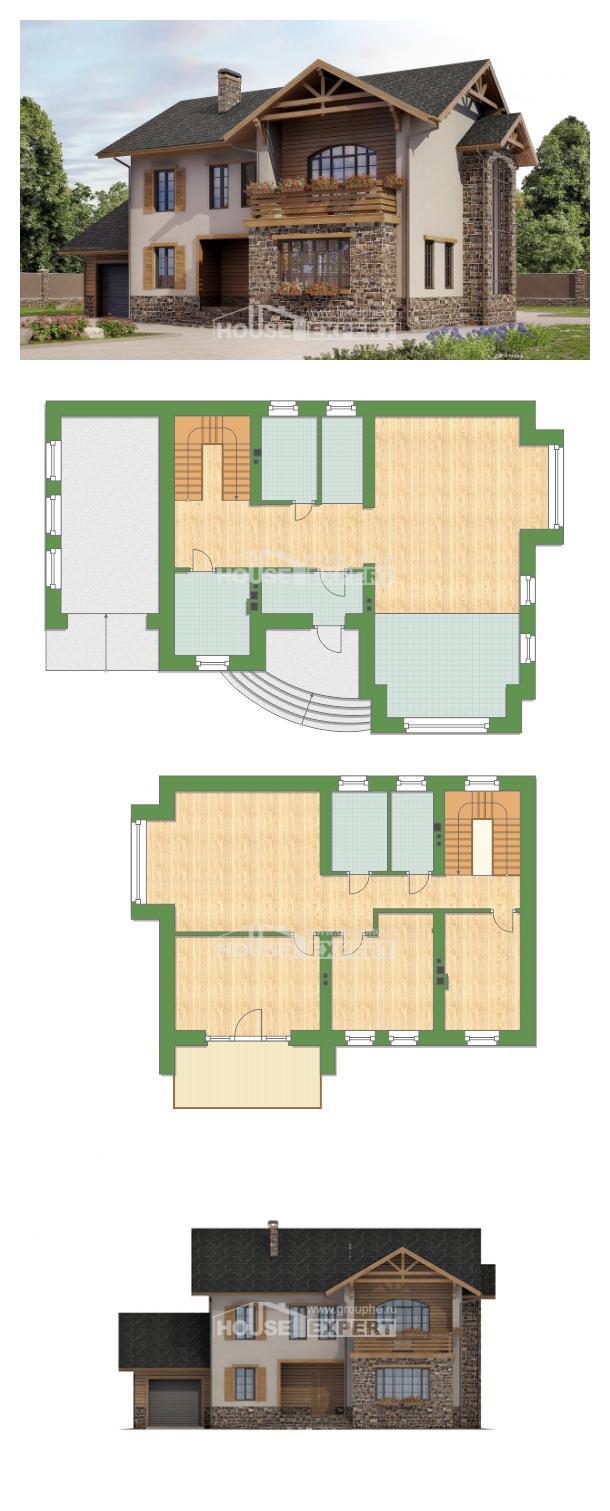 Проект дома 200-005-Л | House Expert