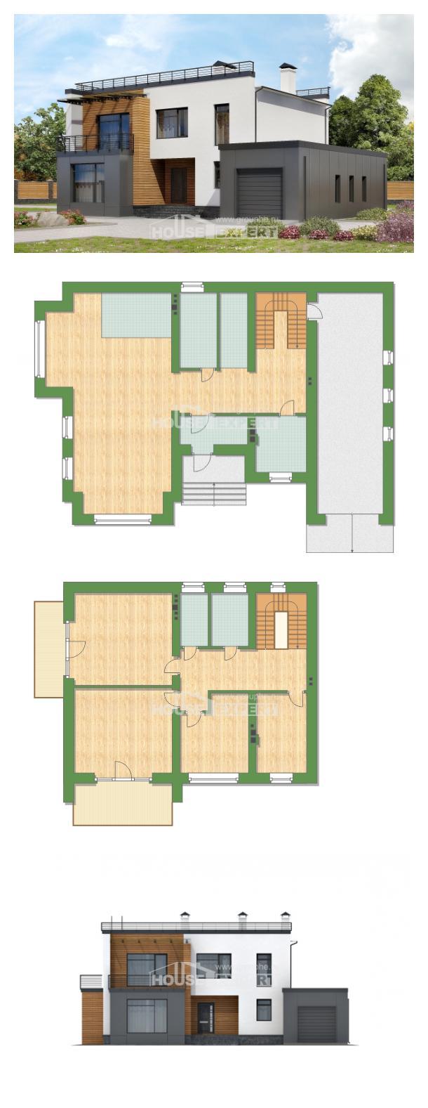 Проект дома 260-002-П | House Expert