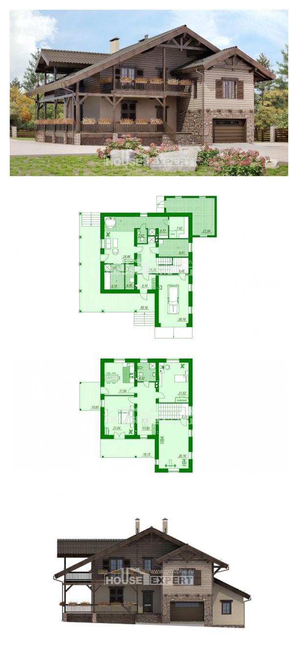 Проект дома 255-002-П | House Expert