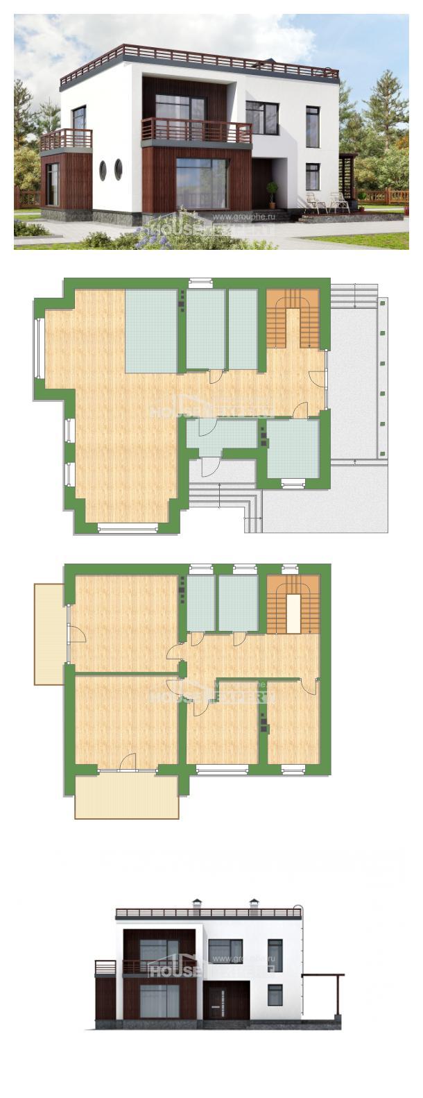 Проект дома 215-002-П | House Expert