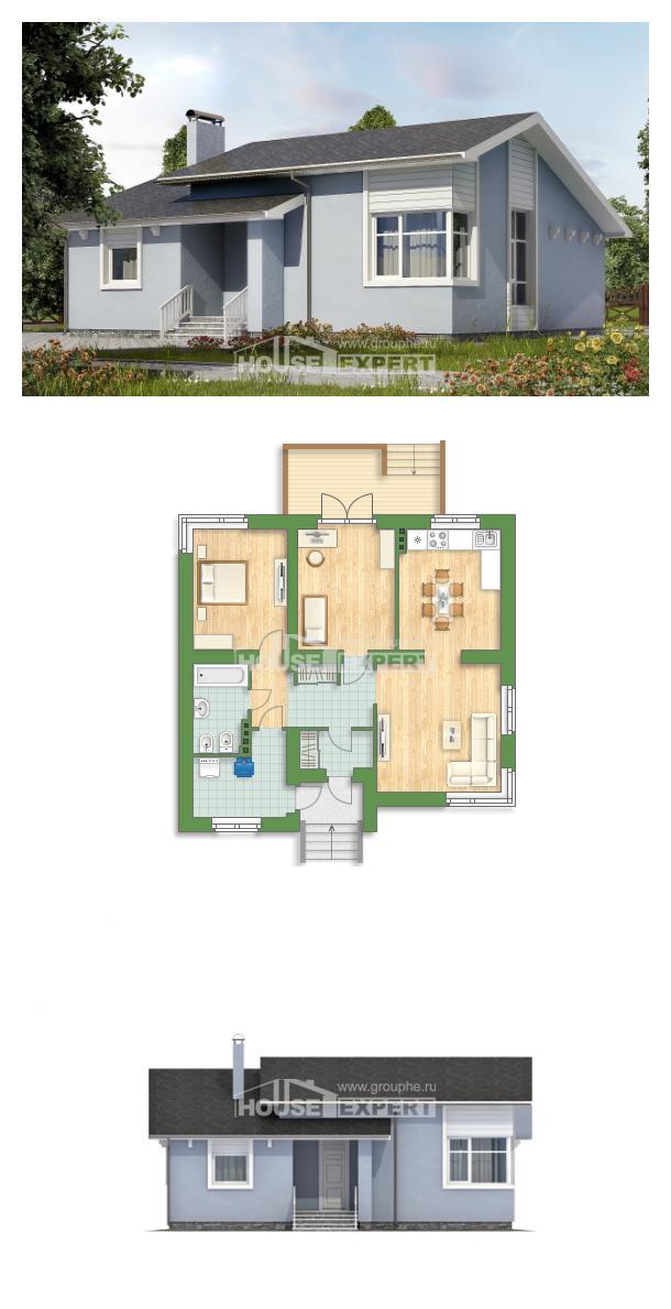 Проект дома 110-003-Л | House Expert