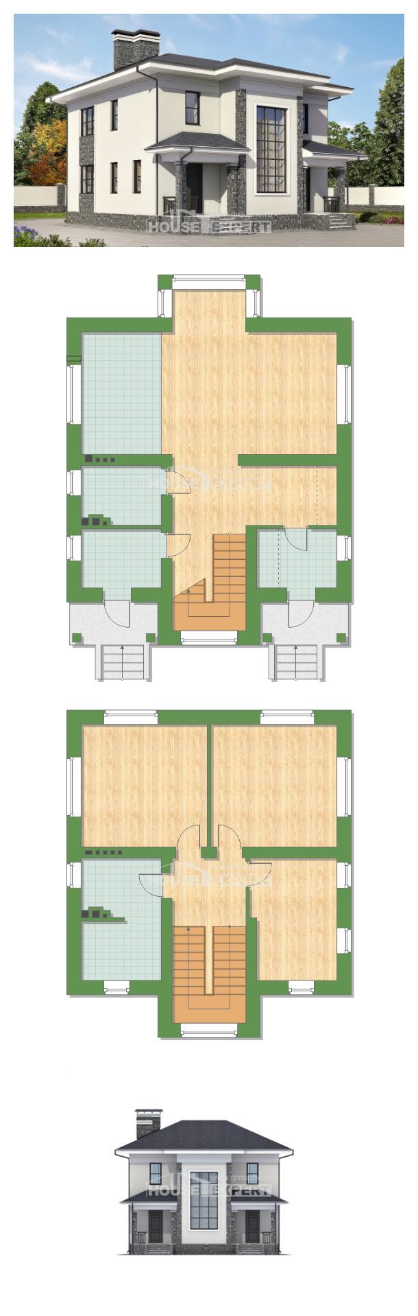 Проект дома 155-011-П   House Expert