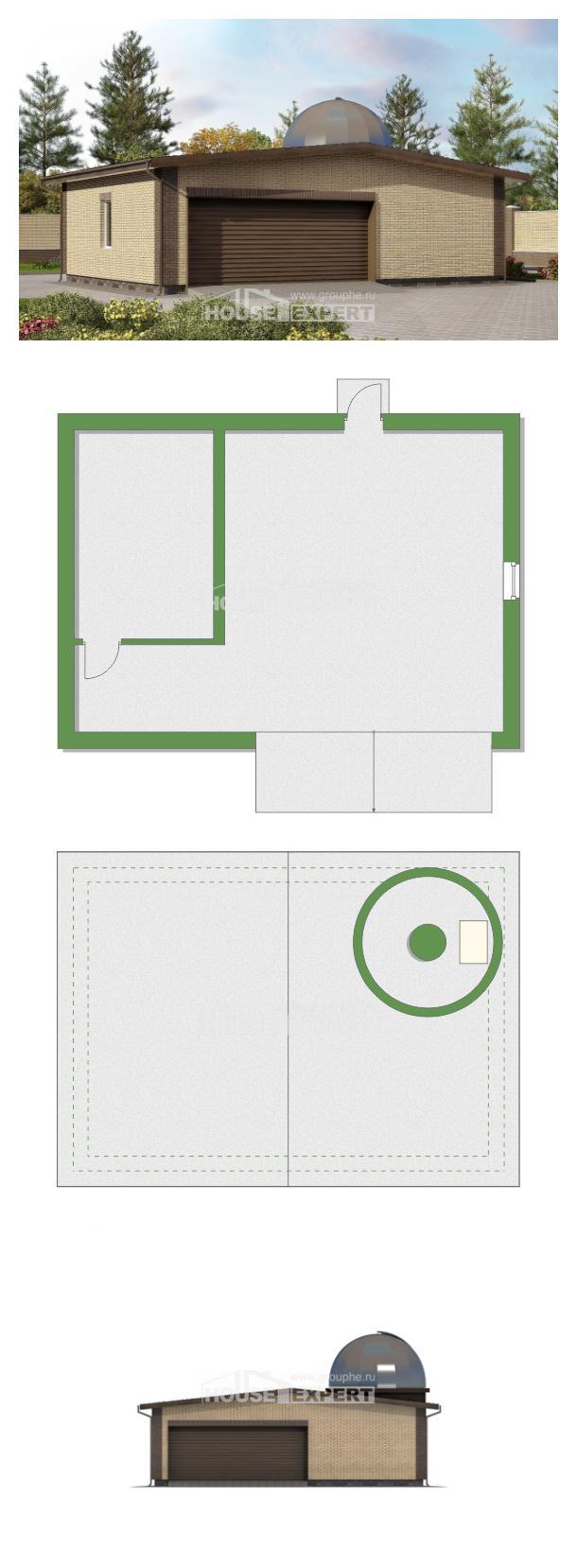 Проект дома 075-001-Л   House Expert