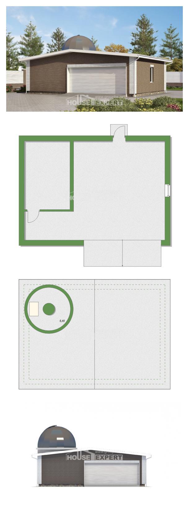 Проект дома 075-001-П   House Expert