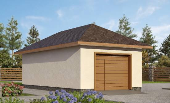 Проекты деревянных гаражей с мансардой